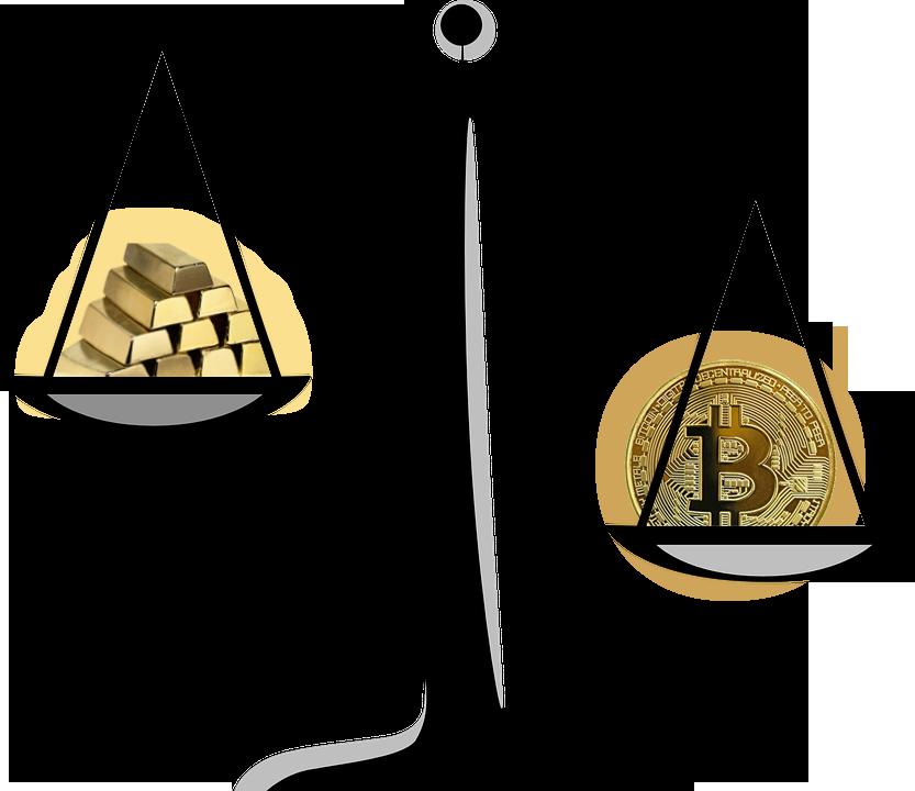 Bitcoin и Золото