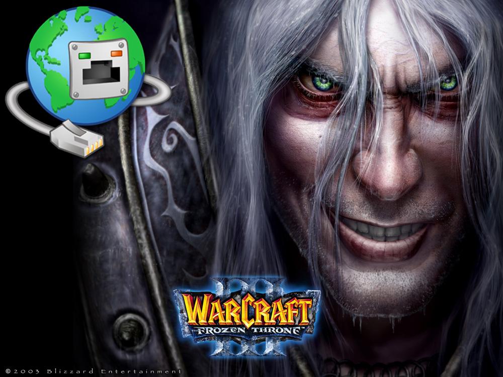 warcraft 3 по сети, lan, internet